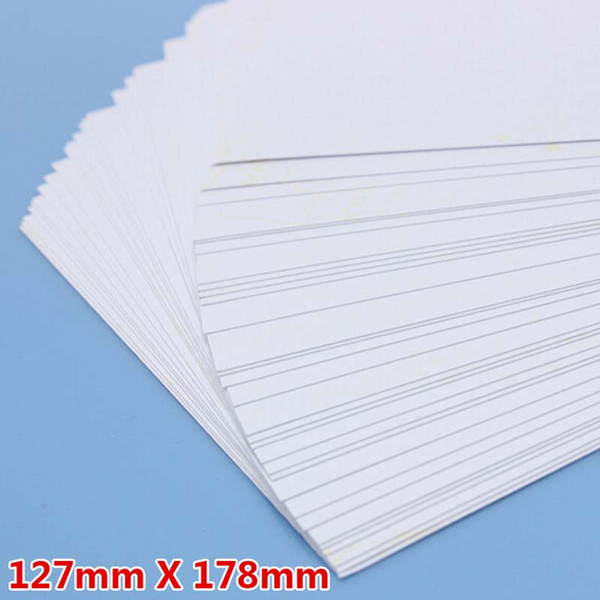 100 Sheet /Lot 5R Photo Paper High Glossy High Quality Fashion 127*178mm School Office Home Single-sided Printing Paper Free Shipping
