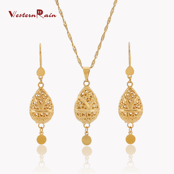 2018 Westernrain 2017 High Quality Gold Jewelry 24k China Fashion