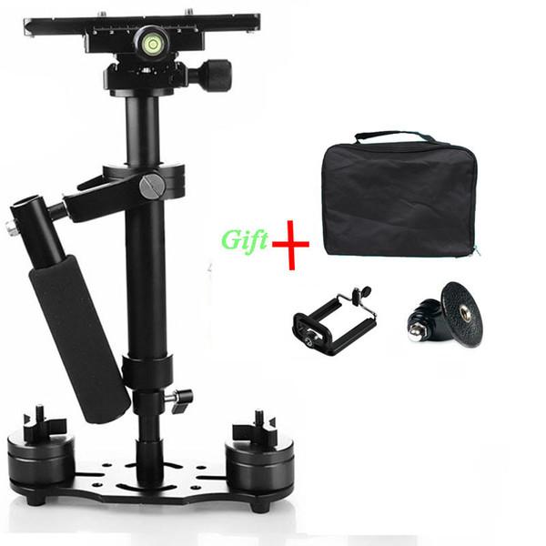 Freeshipping Steadicam S40 Handheld Camera Stabilizer,Steadycam Video Steady DSLR Estabilizador Cameras Compact Camcorder For Canon