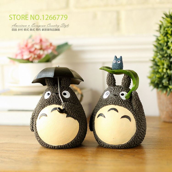 2015 new cartoon style's piggy bank, lovely totoro piggy bank