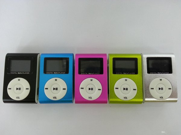 USB Mini MP3 Player Music Media Player wtih LCD Screen Support 32GB Micro SD TF Card USB 2.0/1.1