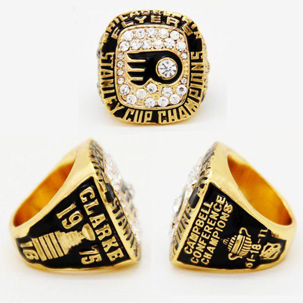 joyas deportivas 1975 Philadelphia Flyers Stanley Cup Championship Ring