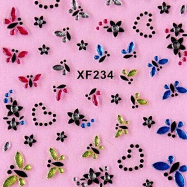 Korea Style Designs 3d Nail Art Sticker Nail Stickers Wholesale Very ...