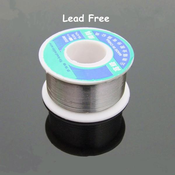 4pcs rollo de alambre de estaño libre de plomo (100 g / pc)