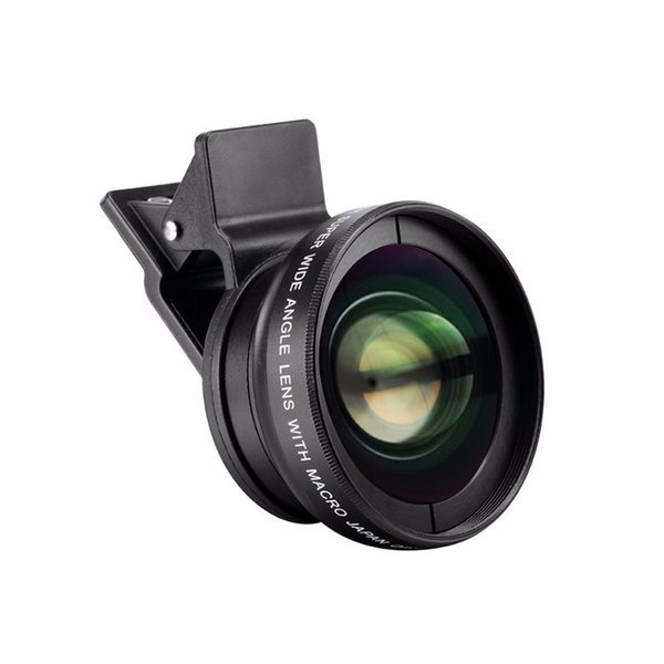 2f859660bc596f 37 mm 0.45x Wide Angle Lens Converter + Macro for iphone Samsung Canon DSLR  Sony