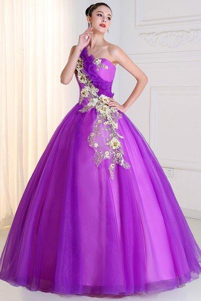 Свободный корабль 100% настоящий фиолетовый одно плечо аппликация кружева вышивка бисером бальное платье средневекового ренессансного платья платье принцессы VictorianBelle