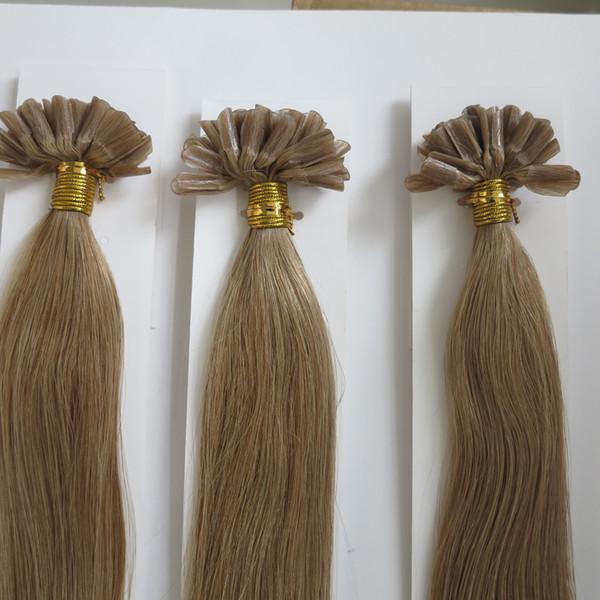 Pre Bonded Human Hair Extensions 1gstrand 16inch 26inch Nail U Tip