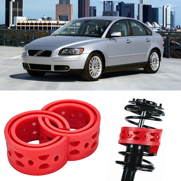 Free shipping 2pcs Super Power Rear Car Shock Spring Bumper Power Cushion Buffer Special For Volvo S40