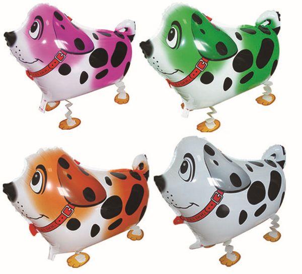 best selling 1000pcs High Quality Cheap Walking Animal Balloon Inflatable Aluminum Walking Pet Balloon Christmas Decoration Children Toys