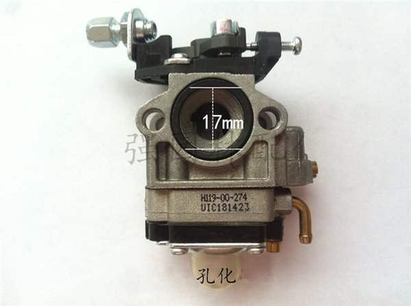 17mm Carburetor membrane type for Chinese 1E36F 36F 1E34F 34F 1E32F 32F grass trimmer hedge trimmer brush cutter free shipping