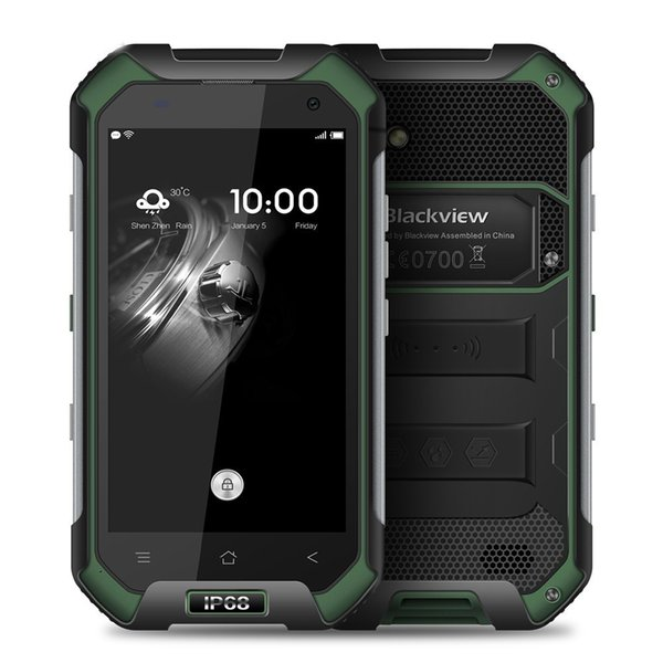 Blackview BV6000 4G Cep telefonu 4.7 inç HD MTK6755 Octa Çekirdek Android 6.0 3 GB RAM 32GB ROM 13 MP Kamera Su geçirmez IP68 Smartphone