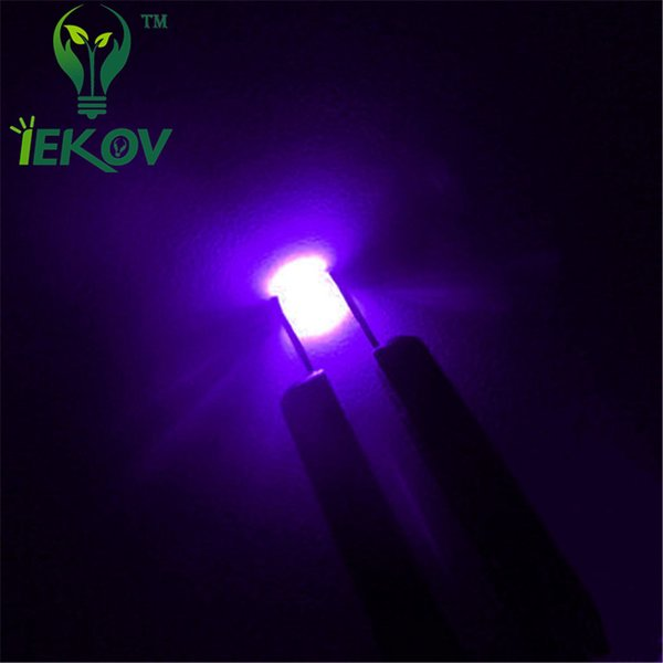 10000pcs/Lot 0805 Purple/UV LED SMD/SMT Chip lamp beads Ultra Bright Light Emitting diode Applicable to all kinds of toys DIY