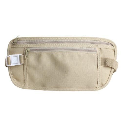 Wholesale- Travel Money Belt for Security Pouch Passport Cash Money Holiday Traveling