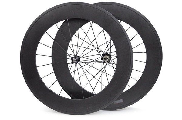 free shipping carbon wheelset 88mm powerway R36 ceramics straight pull 3K UD road clincher wheel 700C width 23mm carbon bicycle wheels