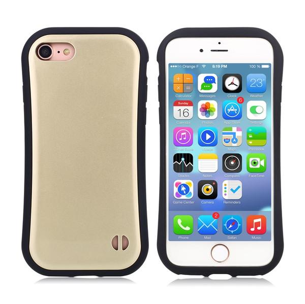Casos de telefone para iphone 4 / 4s / 5s / 5c / 6 / 6s / 7 tpu + pc pequena cintura bonita novo design sujeira-resistente tampa traseira