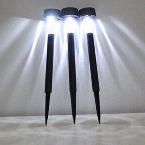 All'ingrosso-Nuovo di alta qualità di energia solare a LED per esterni luci prato Prato Paesaggio percorso Palo Spot Lamp Spedizione gratuita