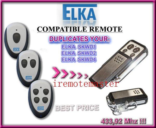 For ELKA remote control SKWD1,SKWD2 and SKWD4 garage door replacement remote