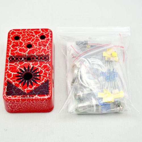 NEW TTONE DIY Delay Pedal Kits-DIY Guitar Pedals Kit With 1590B Pedal Box FREE SHIPPING@IN STOCK!!