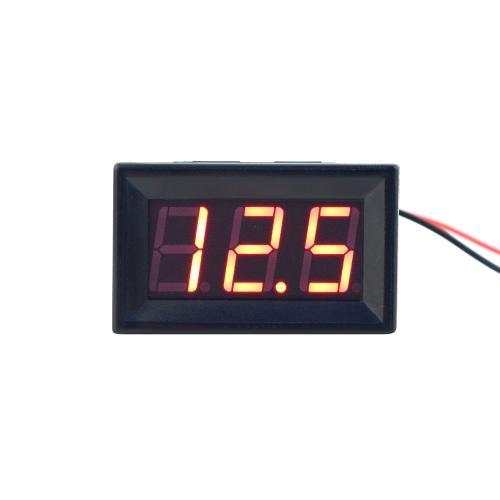 Großhandels-3-30V DC Auto Motor Rot LED Digital Voltmeter Volt Spannung Panel Meter Brand New