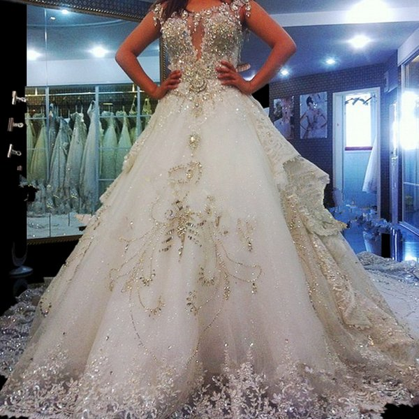 Discount Hot Sale Expensive Wedding Dresses Luxury Wedding Dress ...