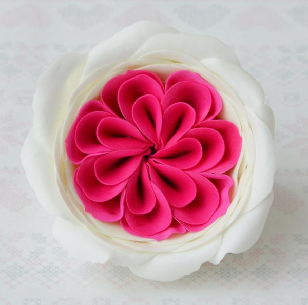 """New Arrival 3"""" Austin Rose Head Soap Scented Flower DIY Artificial Flower Bouquet Accessories Wedding/Birthday/Valentines' Day Gift"""