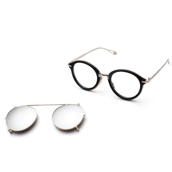 2016 neueste männer frauen mode runde spiegel sonnenbrille steampunk dampf punk hip hop hippie clip auf vintage sonnenbrille brillen