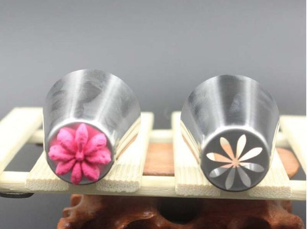 Large Stainless Steel Pastry Nozzle Tips Russian Tulip Nozzle Perfect For Cake Cupcake Decorating Icing Piping Nozzles Russian Rose