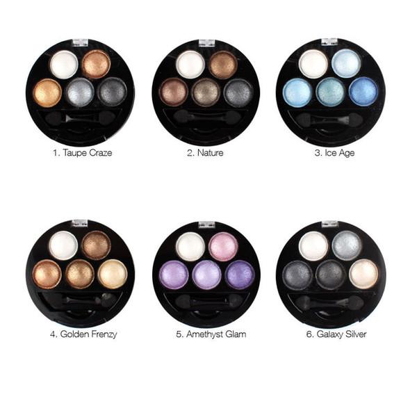 5 цветов палитра теней для век макияж UBUB яркий стерео ню тени для век палитры составляют блеск тени для век наборы DHL быстрая бесплатная доставка