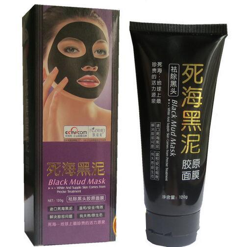 120g Dead See Black Mud Mast BlackHead Remover Peel Off Facial Mask Black Heads Removers Skin Care Pore Cleaner for Acne Treatment