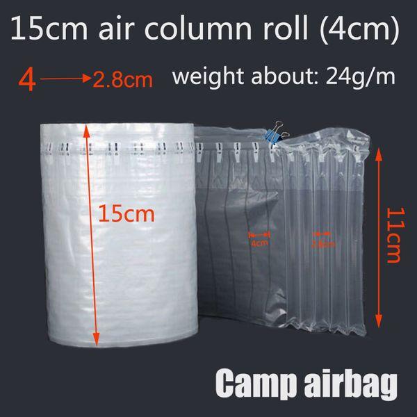 15CM Ampio rotolo gonfiabile Air Donnage Bag Air Column (4CM) Buffer Bag Proteggi il tuo prodotto Merci fragili