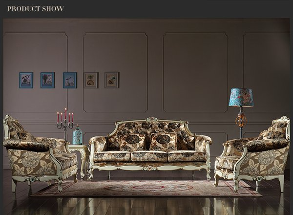 2019 French Royalty Classic Living Room Furniture European Sofa Set Rococo  Style Solid Wood Frame Furniture From Fpfurniturecn, $1084.43 | DHgate.Com