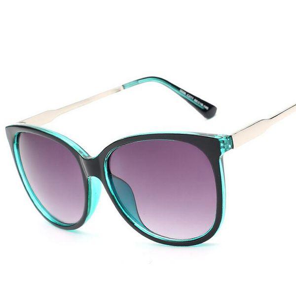 All'ingrosso- All'ingrosso 2017 Luxury Women Sunglasses Fashion Round Ladies Vintage Retro Brand Designer oversize Femminile Occhiali da sole Marea