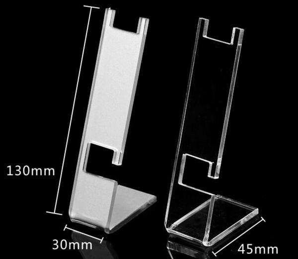 Espositore acrilico display vassoio trasparente stand gioielli orologio da tavolo di visualizzazione destop stand supporto puntelli trasparente