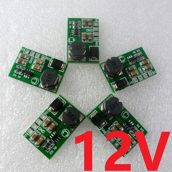 5шт 12W 2-12V 5V до 12V DC-DC повышающего преобразователя Boost, модуль бортового электропитания для Умного дома PLC RS485 BUS