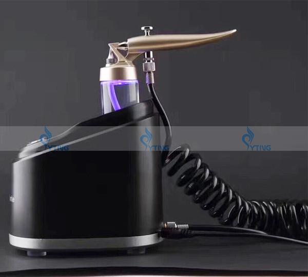 Usage à la maison Eau Oxygen Jet Peel Pistolet pulvérisateur à oxygène Traitement Soins de la peau Enlèvement de l'acné Facial Rajeunissement Nettoyant Beauté Machine