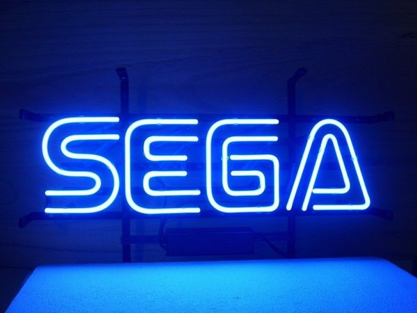 "New SEGA Game Neon Sign Handmade Custom Real Glass Tube Store Bar Advertising Display Neon Signs 16""X8"""