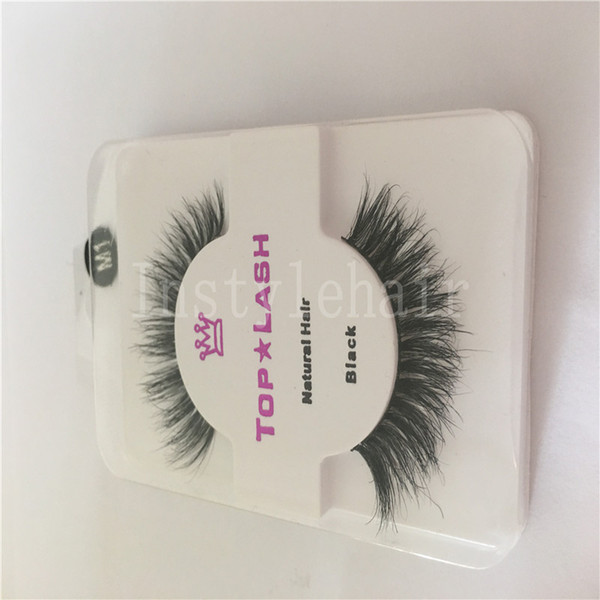Hot Sale Sexy Women Black Luxurious Natural Hair Thick Eye Lashes False Eyelashes For Make up Beauty