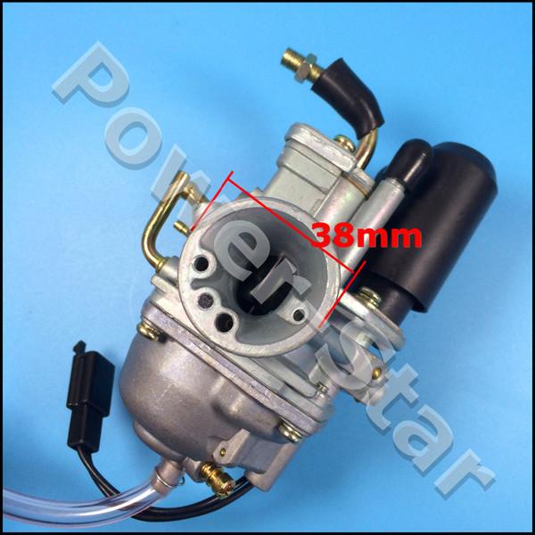 Wholesale- Carburetor 2 Stroke E-TON Eton DXL90 DXL 90 RXL90 RXL 90CC ATV Carb electric choke