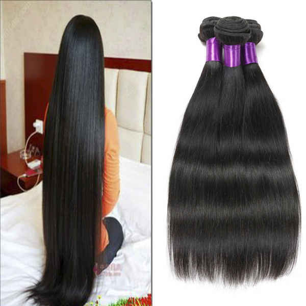 Belle Hair Company Mongolian Virgin Hair Straight 3 Bundles