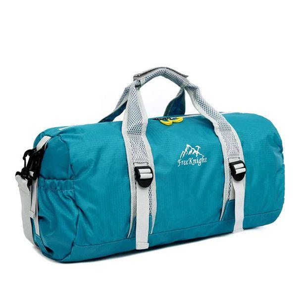 2017 New men and women foldable travel bags handbags big capacity single shoulder gym bags duffle luggage bags nylon waterproof totes