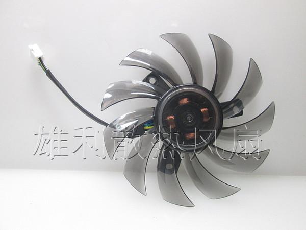 Gigabyte GTX760 GTX680 GTX770 için orijinal grafik kartı fan T128010SU 12 V 0.35A