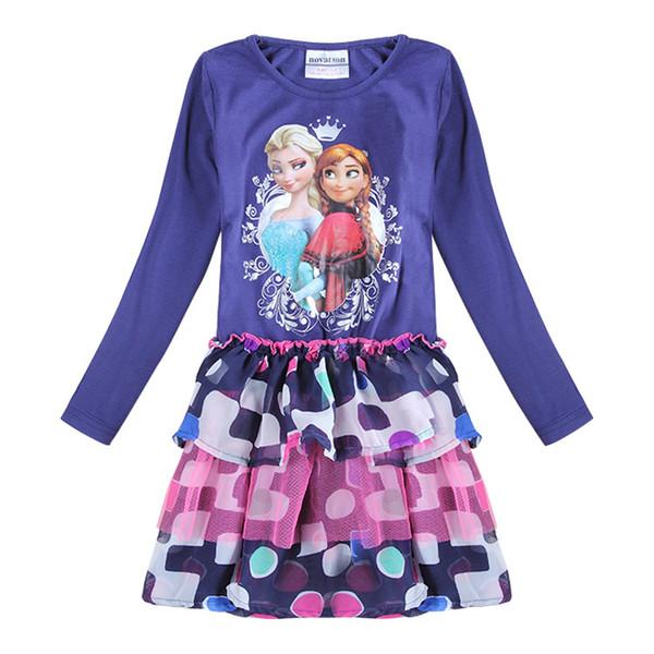 anna und elsa kleid