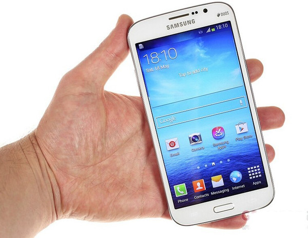 "Original refurbished Samsung Galaxy Mega 5.8 I9152 Cell Phone 5.8"" Dual Core 1.5GB RAM 8GB ROM 8MP camera Unlocked Mobile phone DHL free"