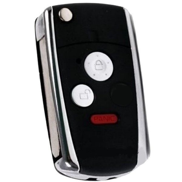 New Keyless Entry Smart Remote Key Fob Shell Case for Honda Fit Odyssey Civic CR-Z Ridgeline Insight Replacement 3/2+panic Buttons No Chip