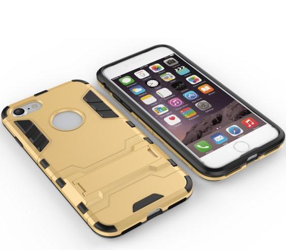 Per Apple Iphone 7 7S Case Rugged Combo Hybrid Armor Bracket Impact Holster Custodia protettiva per Apple Iphone 7 7S