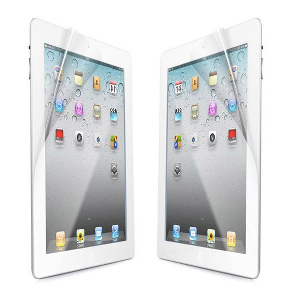 Protecteur d'écran clair mat LCD Protecteur d'écran Film Guard Protection sans emballage de détail pour iPad mini iPad 2 2 3 4 5 6 air