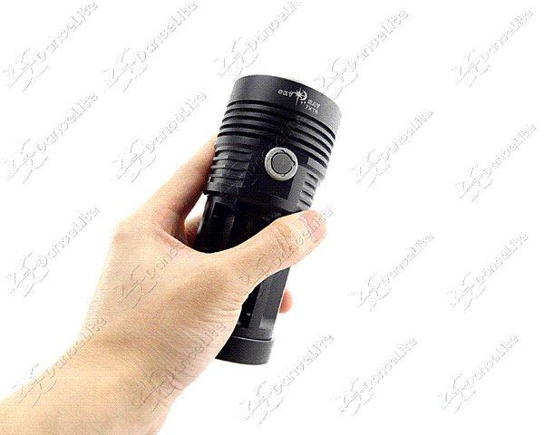 2014 (noir) 7000LM SKY RAY 7xCREE XM-L T6 3M (H-L-S) 18650 Lampe torche Lampe torche Lampe torche