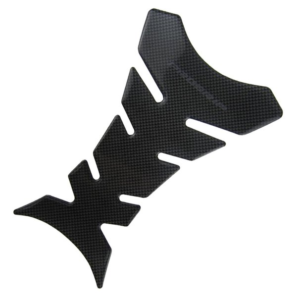top popular Wholesale-1pcs Free Shipping Carbon Fiber Tank Pad Tankpad Protector Sticker For Motorcycle Universal 2019