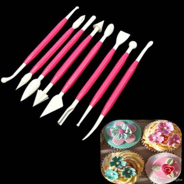 Wholeale Fondant Cake Decorating Sugarcraft Paste Flower Modelling Tools Set Kit H210294