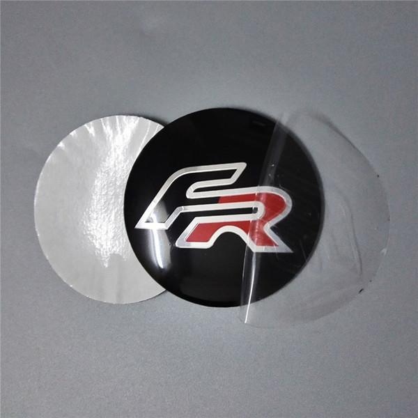 Großhandel Autozubehör 565mm Für Fiat Auto Aufkleber Auto Emblem Abzeichen Aufkleber Radnabenkappen Zentrum Abdeckung Fr Vrs Opel Logo Von